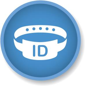 Standard 5 - Patient Identification and Procedure Matching Icon on white JPEG