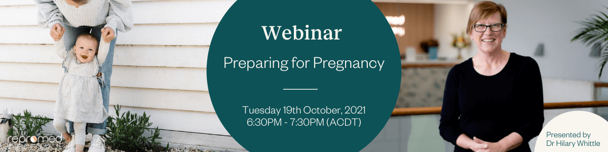 Preparing for Pregnancy – Free Webinar